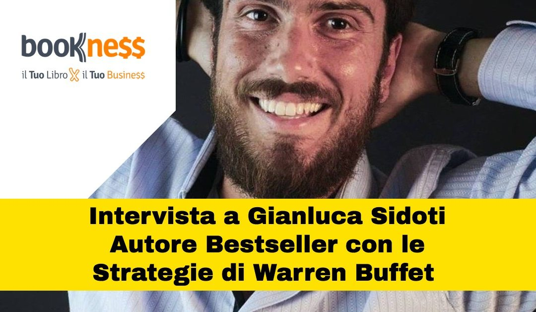 Intervista a Gianluca Sidoti che usa il Libro Bestseller come Unico Strumento di Marketing