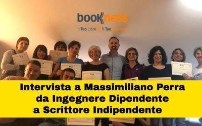 Intervista a Massimiliano Perra da ingegnere dipendente a scrittore indipendente