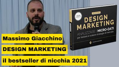 Massimo Giacchino autore del bestseller Design Marketing svela i segreti per vendere un libro online