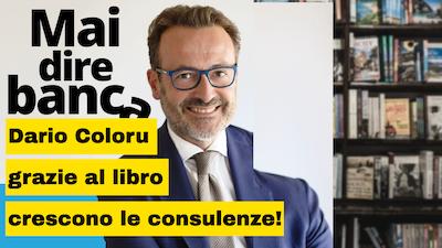 Dario Coloru e il suo libro Consulente finanziario in 12 mesi
