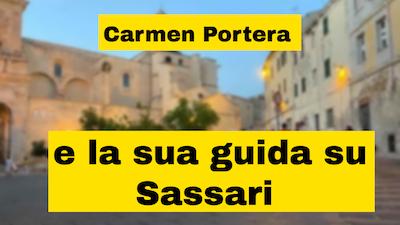 Carmen Portera autrice della guida turistica più completa mai fatta su Sassari