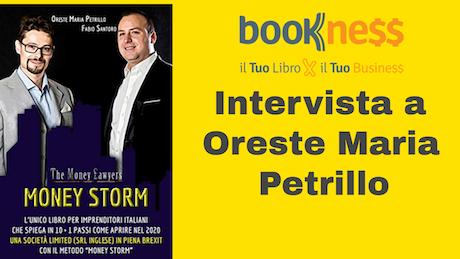 """Intervista all'Avvocato Petrillo autore del libro """"Money Storm"""""""