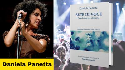 Daniela Panetta autrice del libro Sete di voce